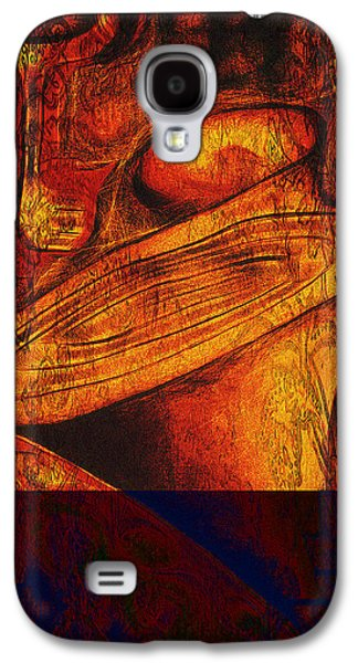 Abstract Movement Galaxy S4 Cases - This Mortal Coil Galaxy S4 Case by Aurora Art