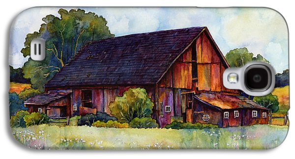 Old Barns Galaxy S4 Cases - This Old Barn Galaxy S4 Case by Hailey E Herrera