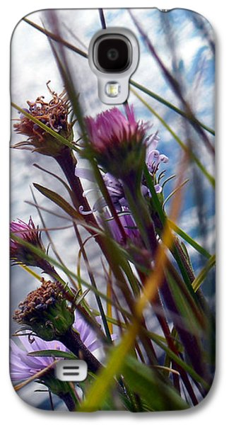 Waterscape Galaxy S4 Cases - Thistles Galaxy S4 Case by Joanna Whitney