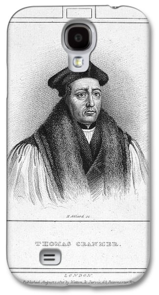Reformer Galaxy S4 Cases - Thomas Cranmer (1489-1556) Galaxy S4 Case by Granger