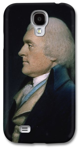 Landmarks Pastels Galaxy S4 Cases - Thomas Jefferson Galaxy S4 Case by James Sharples