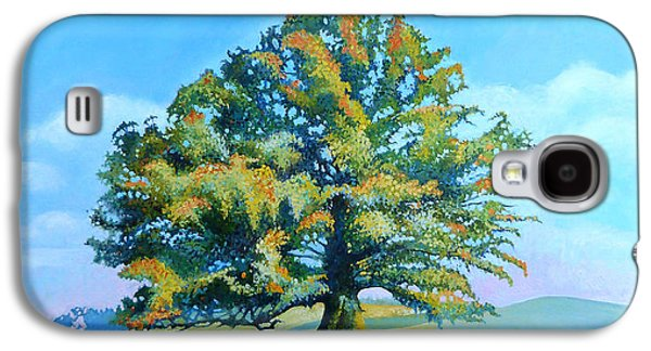 Thomas Jefferson's White Oak Tree On The Way To James Madison's For Afternoon Tea Galaxy S4 Case by Catherine Twomey