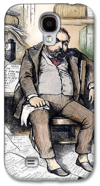 Thomas Nast (1840-1902) Galaxy S4 Case by Granger