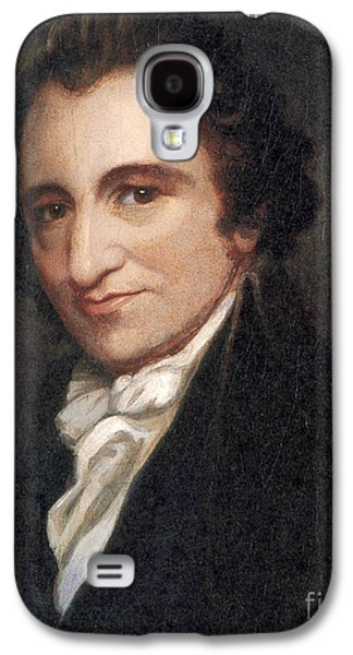 Rights Of Man Galaxy S4 Cases - Thomas Paine, American Founding Father Galaxy S4 Case by Photo Researchers