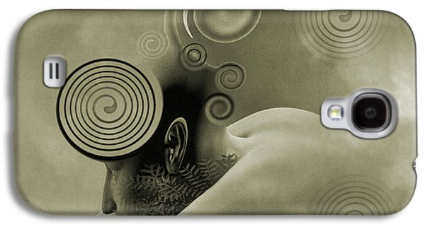 Timing Galaxy S4 Cases - Thoughts are Born Sepia Galaxy S4 Case by Betsy C  Knapp