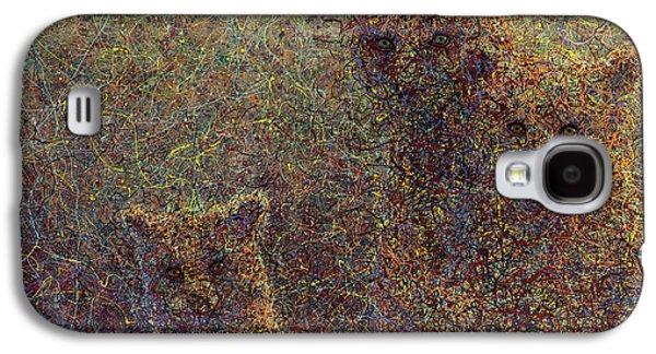 Three Bears Galaxy S4 Case by James W Johnson