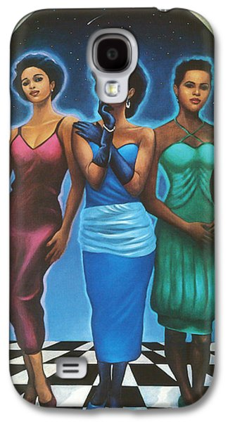 African-american Pastels Galaxy S4 Cases - Three Graces  Galaxy S4 Case by  Albert Fennell