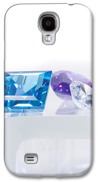 Stones Jewelry Galaxy S4 Cases - Three Jewel Galaxy S4 Case by Atiketta Sangasaeng