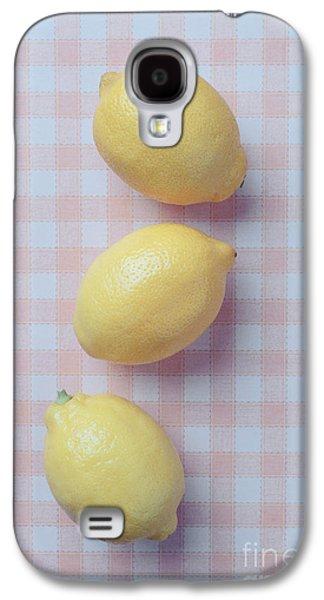 Three Lemons Galaxy S4 Case by Edward Fielding