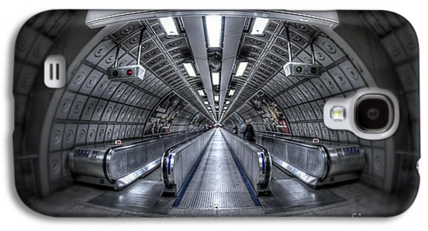 Terminal Photographs Galaxy S4 Cases - Through The Tunnel Galaxy S4 Case by Evelina Kremsdorf