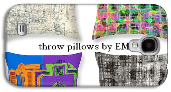 Original Art Photographs Galaxy S4 Cases - Throw Pillows by Edward M. Fielding Galaxy S4 Case by Edward Fielding