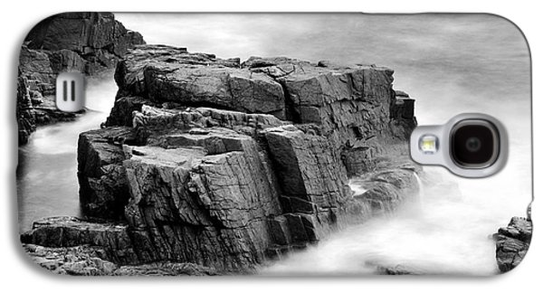 Coastal Maine Galaxy S4 Cases - Thunder along the Acadia coastline - No 1 Galaxy S4 Case by Thomas Schoeller