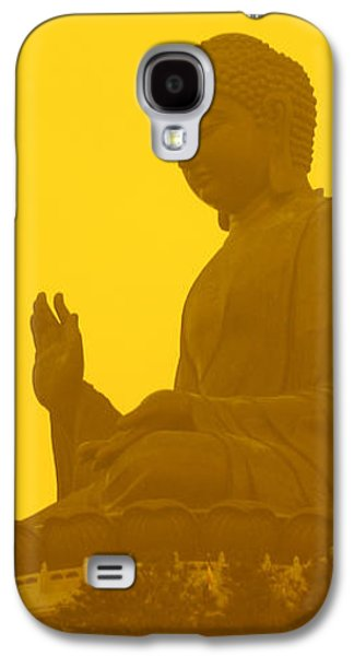 Freedmen Galaxy S4 Cases - Tian Tan Buddha Galaxy S4 Case by Jason Freedman