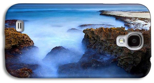 Tidal Bowl Boil Galaxy S4 Case by Mike  Dawson