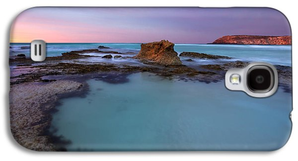 Tidepool Dawn Galaxy S4 Case by Mike  Dawson