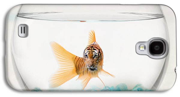 Tiger Fish Galaxy S4 Case by Juli Scalzi