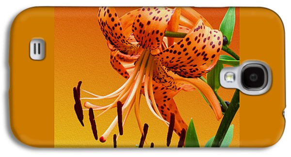 Tiger Lily Galaxy S4 Case by Mike McGlothlen