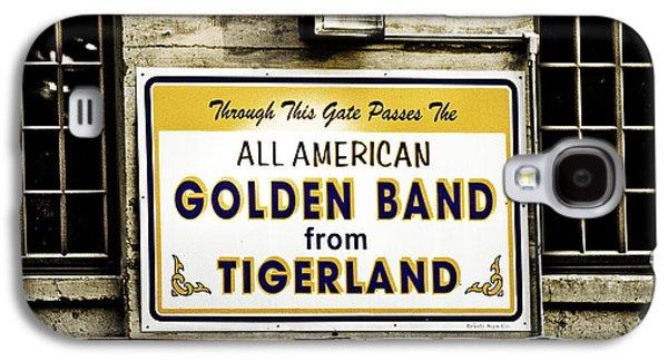 Louisiana State University Photographs Galaxy S4 Cases - Tigerland Band Galaxy S4 Case by Scott Pellegrin