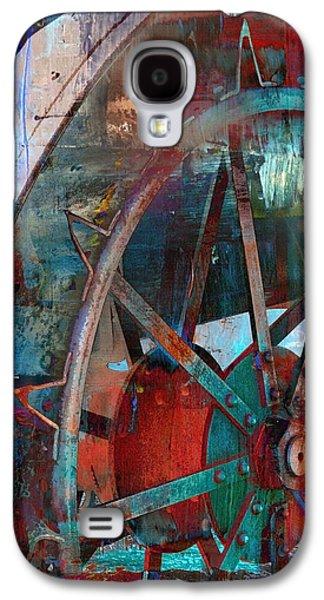 Abstract Digital Art Galaxy S4 Cases - Till Galaxy S4 Case by Lisa S Baker