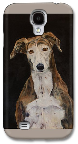 Tilly The Lurcher Galaxy S4 Case by Kathryn Bell