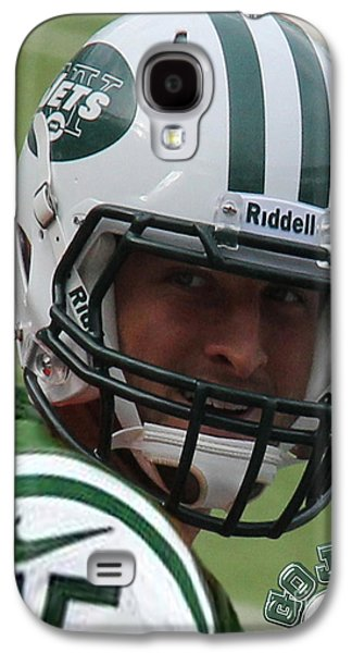 Espn Galaxy S4 Cases - Tim Tebow - New York Jets Florida Gators - Timothy Richard Tebow Galaxy S4 Case by Lee Dos Santos