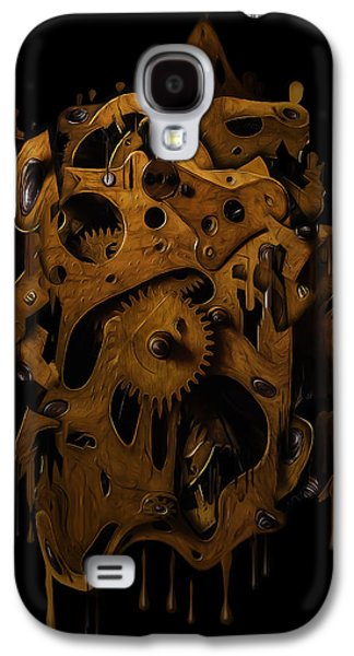 Mechanism Galaxy S4 Cases - Time Philosophy Galaxy S4 Case by Al Boiko