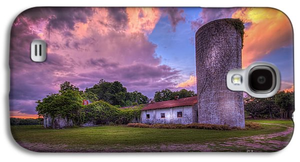 Barn Yard Galaxy S4 Cases - Time Tested Galaxy S4 Case by Marvin Spates