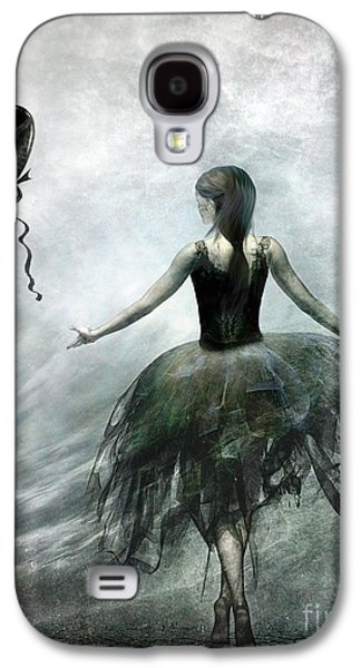 Girl Galaxy S4 Cases - Time to let Go Galaxy S4 Case by Photodream Art