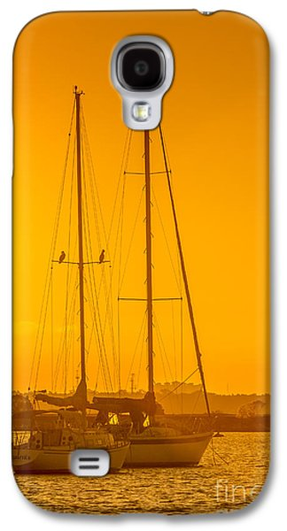 Sailboats In Water Galaxy S4 Cases - Time To Sail Galaxy S4 Case by Marvin Spates