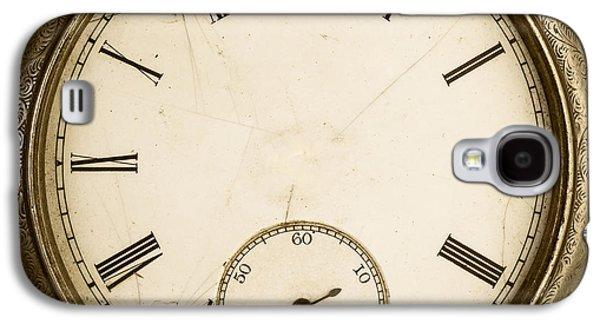 Clock Galaxy S4 Cases - Timeless Galaxy S4 Case by Edward Fielding