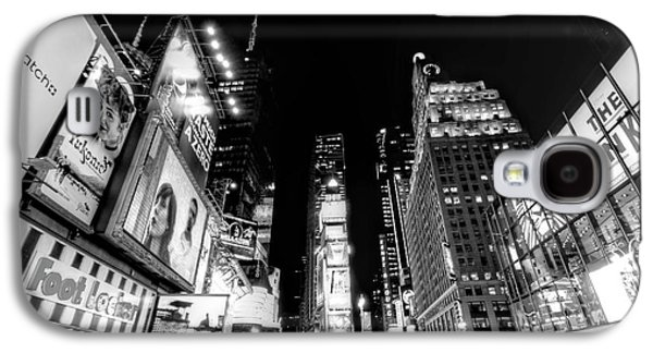 Times Square Digital Galaxy S4 Cases - Times Square Dont Shine as Bright as You Galaxy S4 Case by Ariane Moshayedi
