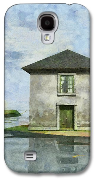 Playful Digital Galaxy S4 Cases - Tiny House 1 Galaxy S4 Case by Cynthia Decker