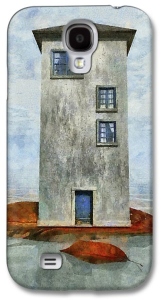 Playful Digital Galaxy S4 Cases - Tiny House 3 Galaxy S4 Case by Cynthia Decker