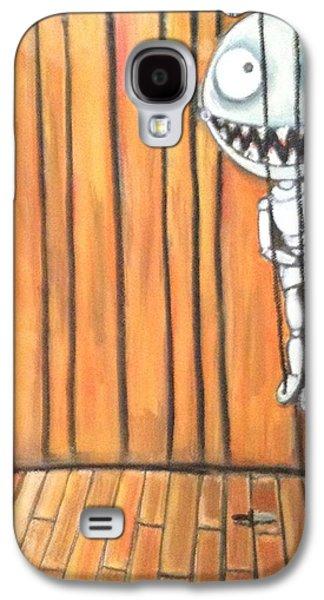 Creepy Pastels Galaxy S4 Cases - Tiny Puppet Galaxy S4 Case by Regina Jeffers