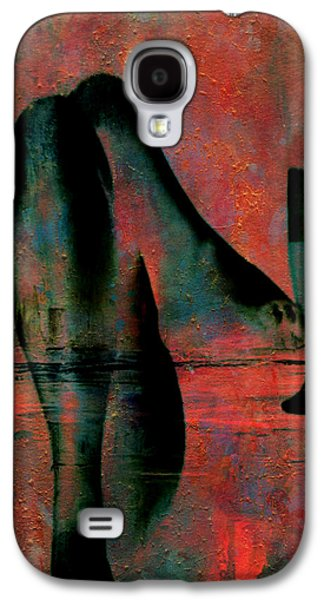Wine Sipping Galaxy S4 Cases - Tipsy Turvey Galaxy S4 Case by Greg Sharpe