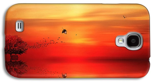 Maple Season Galaxy S4 Cases - To Autumn Galaxy S4 Case by Lourry Legarde