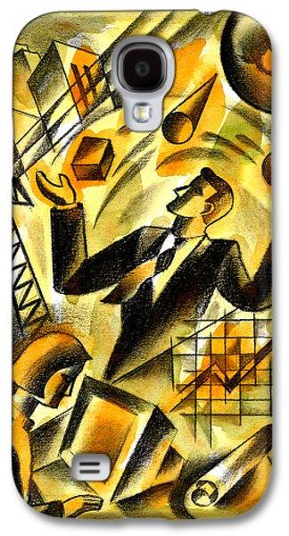To Be A Businessman Galaxy S4 Case by Leon Zernitsky