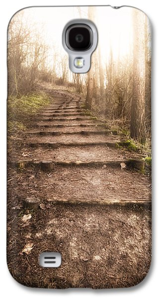 Landscapes Photographs Galaxy S4 Cases - To The Light Galaxy S4 Case by Wim Lanclus