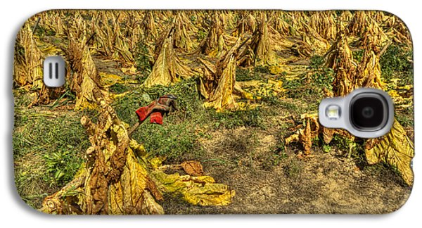Tobacco Patch Galaxy S4 Case by Wendell Thompson