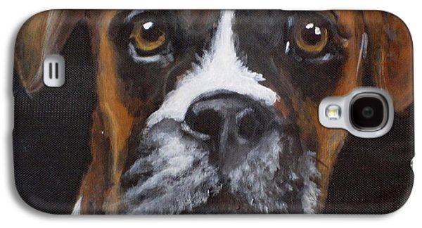 Boxer Galaxy S4 Cases - Toby Galaxy S4 Case by Carol Russell