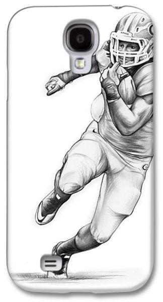 Todd Gurley Galaxy S4 Case by Greg Joens
