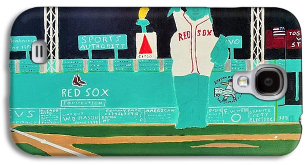 Boston Red Sox Paintings Galaxy S4 Cases - Together We Stand Galaxy S4 Case by Dennis ONeil