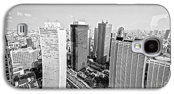 Tokyo Skyline Galaxy S4 Case by Pravine Chester