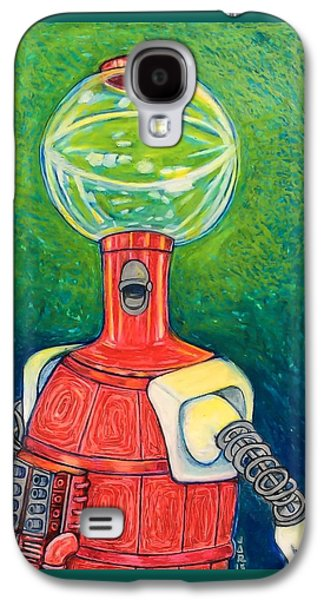 Outer Space Pastels Galaxy S4 Cases - Tom Servo Galaxy S4 Case by Jessica Ritenour