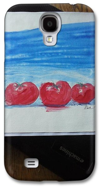 Food And Beverage Tapestries - Textiles Galaxy S4 Cases - Tomato Galaxy S4 Case by Lisa LaMonica