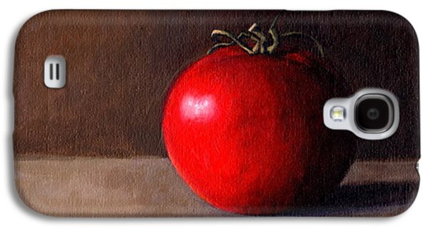 Tomato Still Life 1 Galaxy S4 Case by Janet King