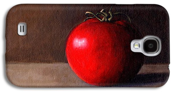 Janet King Galaxy S4 Cases - Tomato Still Life 1 Galaxy S4 Case by Janet King