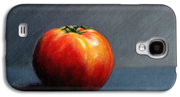 Janet King Galaxy S4 Cases - Tomato Still Life 2 Galaxy S4 Case by Janet King