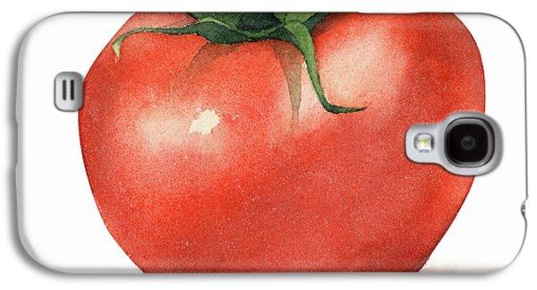Tomato Watercolor Galaxy S4 Case by Taylan Soyturk