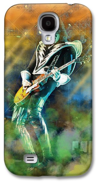 Beatles Galaxy S4 Cases - Tommy Thayer Galaxy S4 Case by Don Kuing
